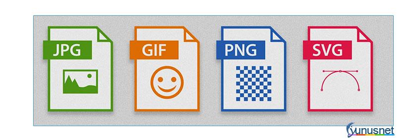 resim formatları, jpeg, jpg, png, gif, svg