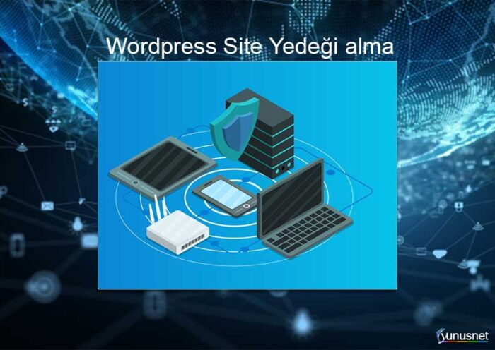 Wordpress Site Yedeği Alma
