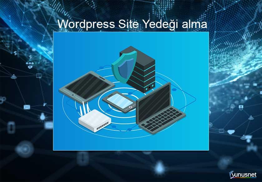 Wordpress Site Yedeği Alma